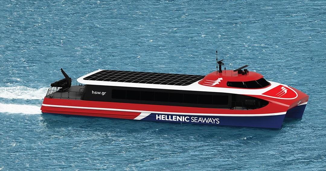 Συμφωνία για την ναυπήγηση τριών υπερσύγχρονων catamaran ανακοίνωσε η Attica Group