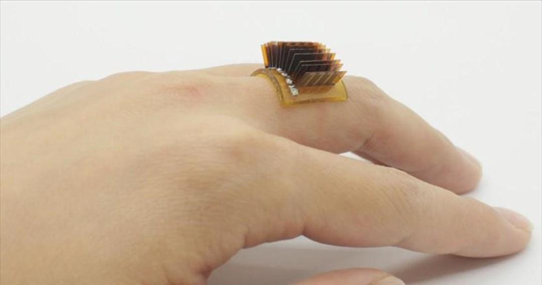Θερμοηλεκτρικό δαχτυλίδι μετατρέπει το ανθρώπινο σώμα σε «μπαταρία»
