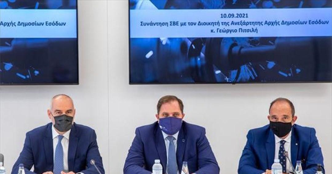 Συνάντηση Γ. Πιτσιλή με τη διοίκηση του ΣΒΕ- Τι συζητήθηκε